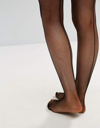 Ann Summers Micro Fishnet Seamed Hold Ups