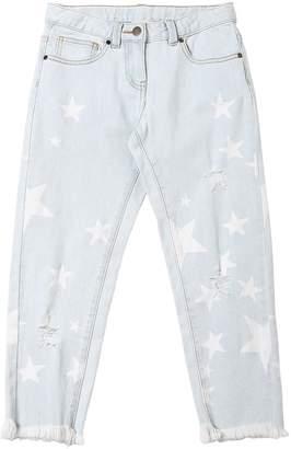 Stella McCartney Star Print Stretch Cotton Denim Jeans