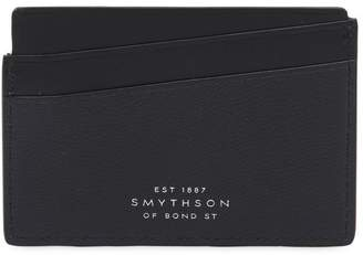 Smythson Grosvenor Flat Leather Card Holder