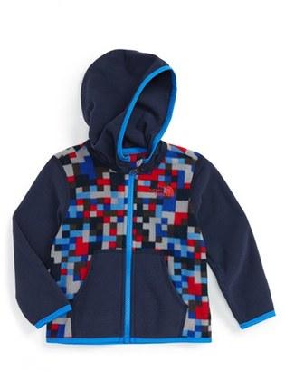 Infant Boy's The North Face 'Glacier' Zip Hoodie $35 thestylecure.com