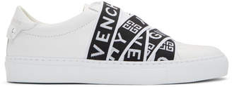 Givenchy White 4G Elastic Urban Knots Sneakers