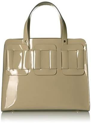 Orla Kiely Glass Leather Linked Margot Bag