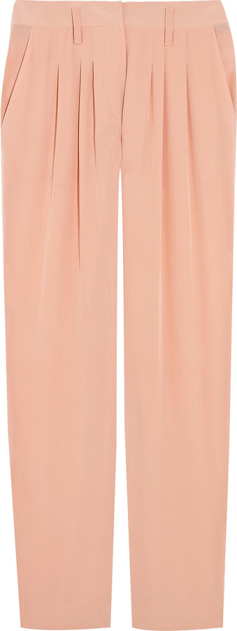 Sonia by Sonia Rykiel Silk crepe de Chine pants