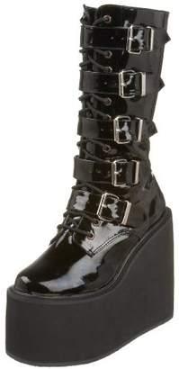 Pleaser USA Demonia by Women's Swing-220 5 Buckle Platform Boot
