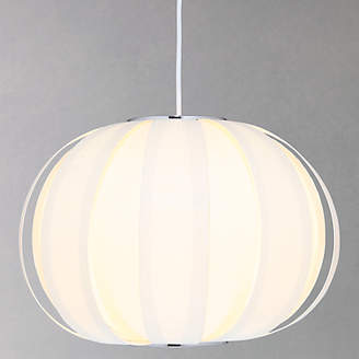 John Lewis & Partners Sumet Panels Easy-to-Fit Ceiling Shade, Cream