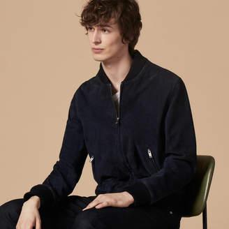 Sandro Suede jacket with zip