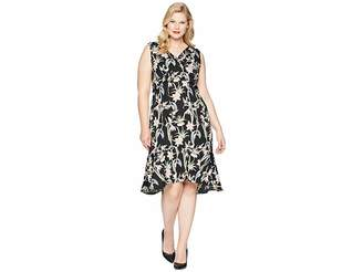 Unique Vintage Plus Size Gloria Wiggle Dress Women's Dress