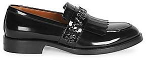 Givenchy Men's Cruz Embellished Leather Penny Loafers