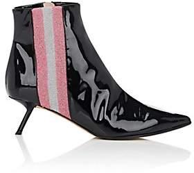 Ballin ALCHIMIA DI Women's Libra Patent Leather Ankle Boots - Black