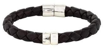 Bottega Veneta Leather Hinged Bracelet
