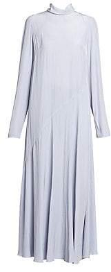 Dries Van Noten Women's Plain Turtleneck Midi Dress