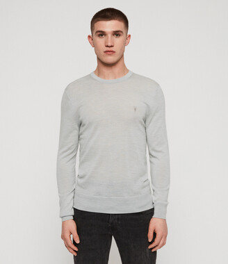 AllSaints Mode Merino Crew Sweater