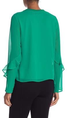 Vero Moda Ava Ruffled Sleeve Top