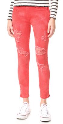 True Religion Runway Legging Crop Jeans $169 thestylecure.com