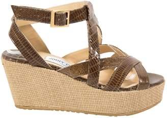 Jimmy Choo Alligator heels