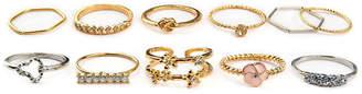 Arizona Womens Multi Color Stackable Rings