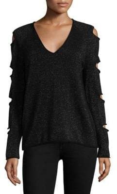 360 Cashmere Tyrone Skull Cashmere Sweater