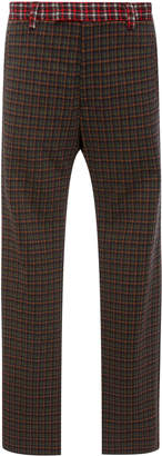 Marni Mixed Plaid Pants