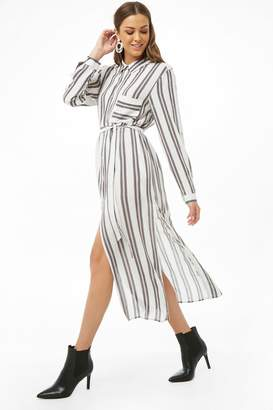Forever 21 Striped Shirt Tunic