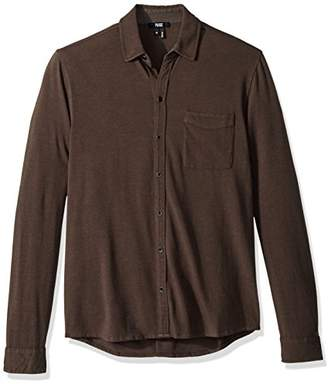 Paige Men's Stockton Tech Jersey Button Up