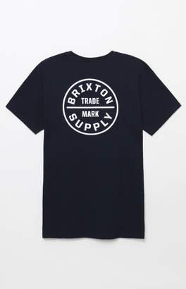 Brixton Oath Navy T-Shirt