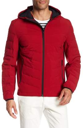 Andrew Marc Gramercy Quilted Hooded Jacket