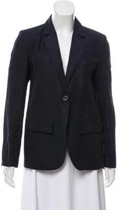 Ulla Johnson Linen-Blend Notch-Lapel Blazer
