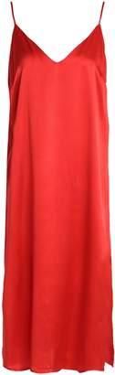 Anine Bing シルクサテン ナイトドレス