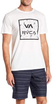 RVCA Floral Crew Neck Tee
