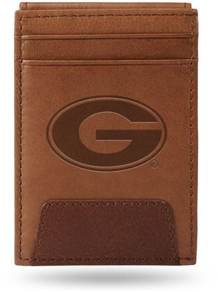 Georgia Bulldogs Embossed Slim Leather Wallet