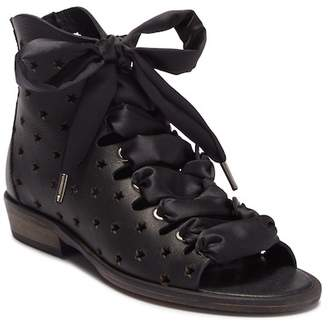 Free People Palms Lace-Up Leather Sandal