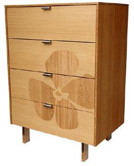 Iannone Design Flower Inlay Sideboard or Dresser