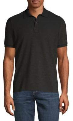 Etro Shimmer Short-Sleeve Polo