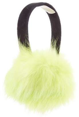 Michael Kors Faux Fur Earmuffs