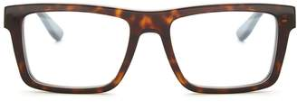 Monogram rectangle-frame glasses