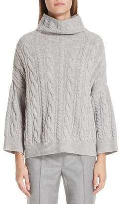 Max Mara Fungo Wool & Cashmere Turtleneck Sweater