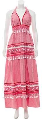 Dodo Bar Or Halter Maxi Dress w/ Tags