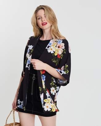 Dorothy Perkins Floral Kimono