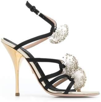 Giambattista Valli embellished strappy sandals