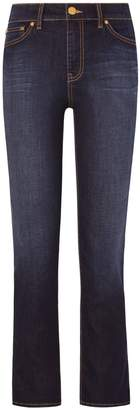 Tory Burch Sandy Cropped Straight-Leg Jean
