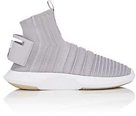 adidas Men's Crazy 1 ADV Sock Primeknit Sneakers - Light Gray