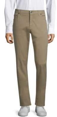 Corneliani Straight-Leg Khaki Pants