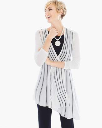Travelers Collection Asymmetrical Sweater Jacket