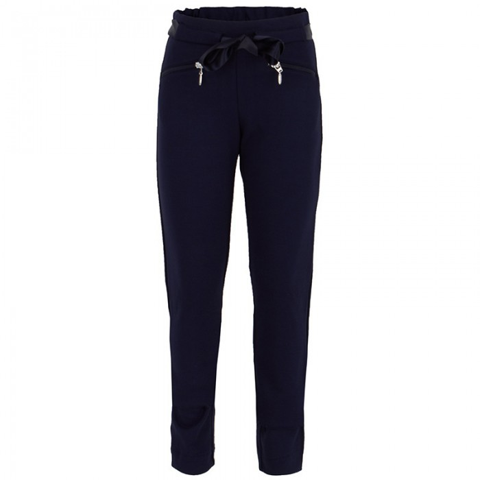 Mayoral Navy Jersey Pants