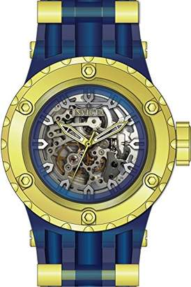Invicta Men's 'Subaqua' Automatic Stainless Steel and Silicone Casual Watch