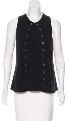 Altuzarra Embellished Sleeveless Top