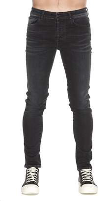 Marcelo Burlon County of Milan Stone Wash Slim Fit Jeans