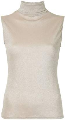 Layeur roll neck glitter top