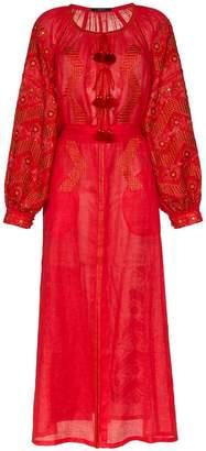 DAY Birger et Mikkelsen Vita Kin mina drop waist linen dress