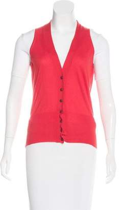 Hermes Cashmere Knit Vest